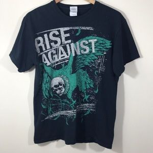Rise Against Graphic Band Tee